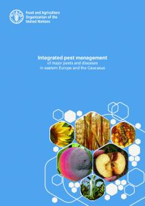 Integrated pest management of major pests and diseases in eastern ...