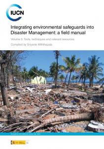 Integrating environmental safeguards into Disaster Management: a ...