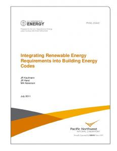 Integrating Renewable Energy Requirements into ... - CiteSeerX