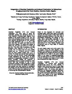 Integration of Electrical Resistivity and Induced Polarization for ...