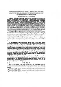 INTEGRATION OF LOCAL-GLOBAL UPSCALING AND ... - CiteSeerX
