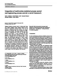 Integration of multivariate statistical process control ...