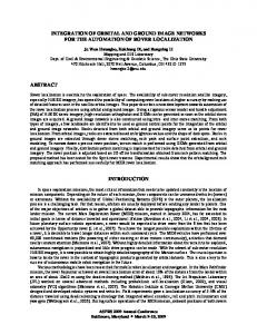 integration of orbital and ground image networks for the ... - CiteSeerX