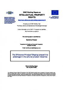 intellectual property rights - Birkbeck, University of London