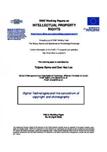 intellectual property rights - DIME