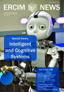Intelligent and Cognitive Systems - ERCIM News