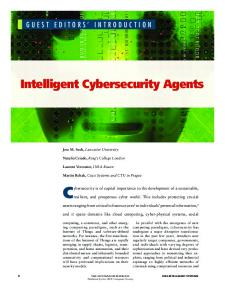 Intelligent Cybersecurity Agents