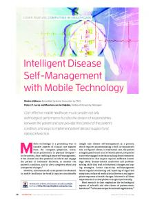 Intelligent Disease Self-Management with Mobile ... - IEEE Xplore
