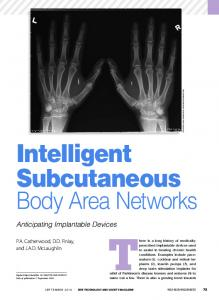 Intelligent Subcutaneous - IEEE Xplore