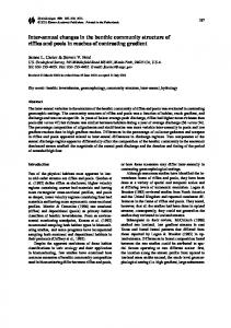 Inter-annual changes in the benthic community ... - Springer Link