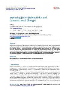 Inter - Scientific Research Publishing
