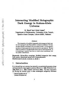 Interacting Modified Holographic Dark Energy in Kaluza-Klein Universe
