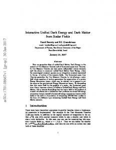 Interactive Unified Dark Energy and Dark Matter from Scalar Fields
