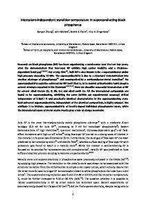 Intercalant-independent transition temperature in ... .orgwww.researchgate.net › publication › fulltext › Intercal