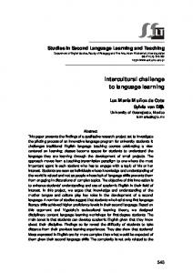 Intercultural challenge to language learning - Eric
