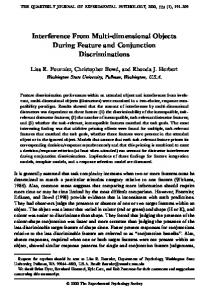 Interference From Multi-dimensional Objects ... - Semantic Scholar