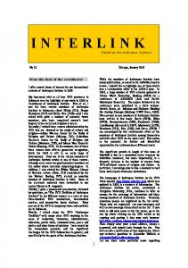 Interlink - N° 22 - January 2010