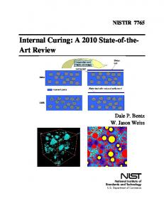 Internal Curing: A 2010 State-of-the- Art Review - CiteSeerX
