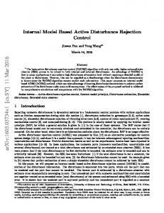 Internal Model Based Active Disturbance Rejection Control