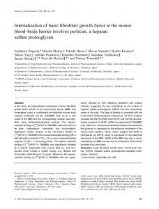Internalization of basic fibroblast growth factor at ... - Wiley Online Library