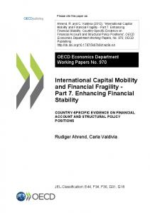 International Capital Mobility and Financial Fragility
