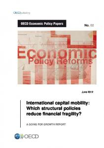 International capital mobility: Which structural policies