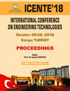 international conference on engineering technologies
