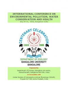 international conference on environmental pollution ...