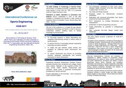 International Conference on Sports Engineering