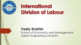 International Division of Labour