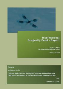 International Dragonfly Fund - Report