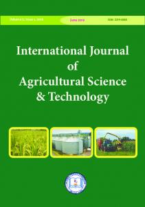 International Journal of Agricultural Science ...