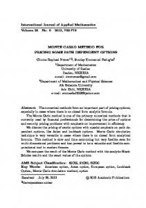 International Journal of Applied Mathematics