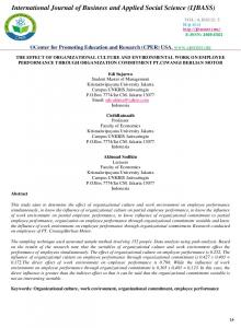 International Journal of Business and Applied Social Science (IJBASS)