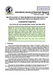 International Journal of ChemTech Research