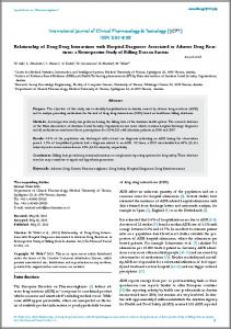 International Journal of Clinical Pharmacology & Toxicology (IJCPT ...