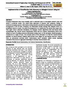 International Journal of Engineering Technology and Management ...