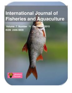 International Journal of Fisheries and Aquaculture - Academic Journals