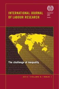 International Journal of Labour Research - The Global Labour University