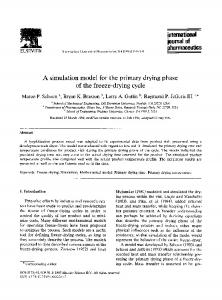 international journal of pharmaceutics - Science Direct
