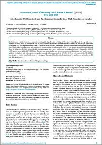 International Journal of Veterinary Health Science & Research ...
