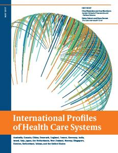 International Profiles of Health Care Systems - The Commonwealth Fund