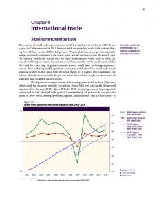 International trade - the United Nations