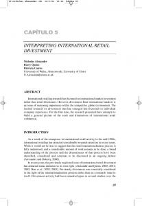 interpreting international retail divestment