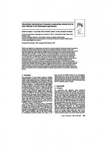 Intracellular determination of elements in mammalian cultured cells by ...
