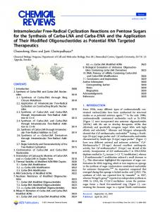 Intramolecular Free-Radical Cyclization Reactions ... - ACS Publications