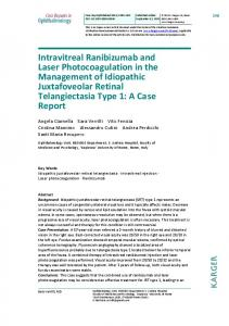Intravitreal Ranibizumab and Laser ... - Semantic Scholar
