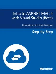 Intro to ASP.NET MVC 4 with Visual Studio - Microsoft Download ...