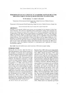 introduction performance evaluation of an anaerobic baffled reactor ...