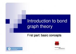 Introduction to bond graph theory